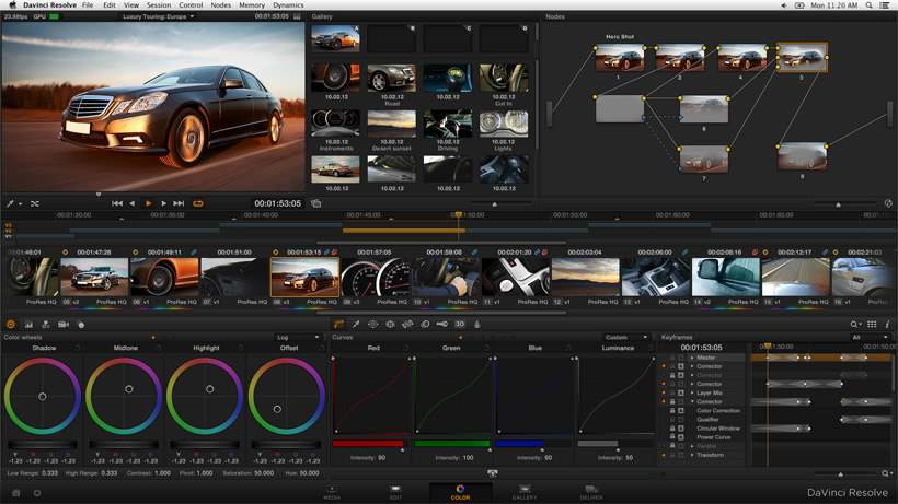 Aplikasi Edit Video PC Gratis Terbaik 2016 Aplikasi Davinci Resolve