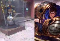 Dikira Tuhan , Perempuan China Sembah Patung League Of Legends