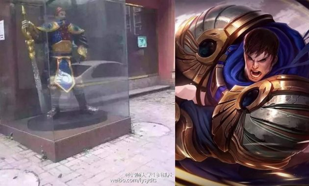 Dikira Tuhan , Perempuan China Sembah Patung League Of Legends
