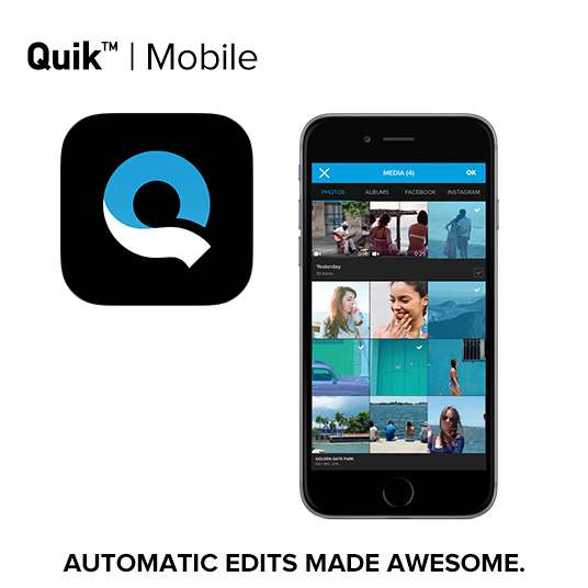 Aplikasi Edit Video Smartphone Quick GoPro