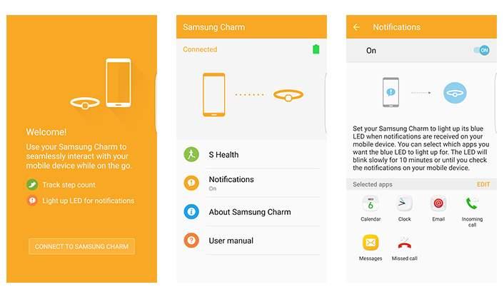 Aplikasi Samsung Charm