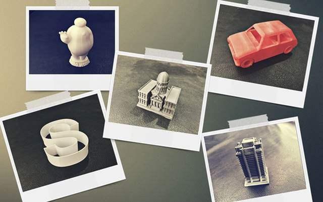 Beberapa Objek Hasil 101 Hero 3D Printer