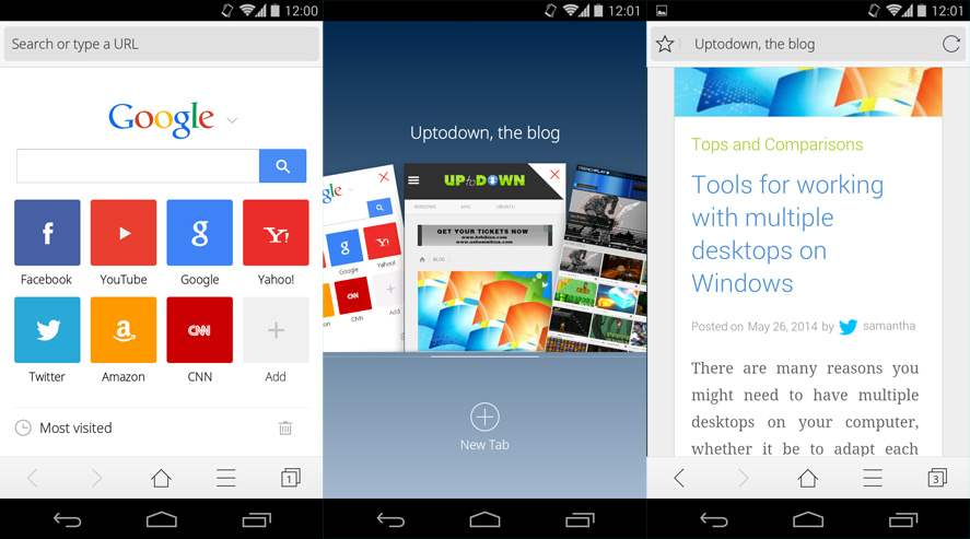 Browser Android Terbaik CM Browser
