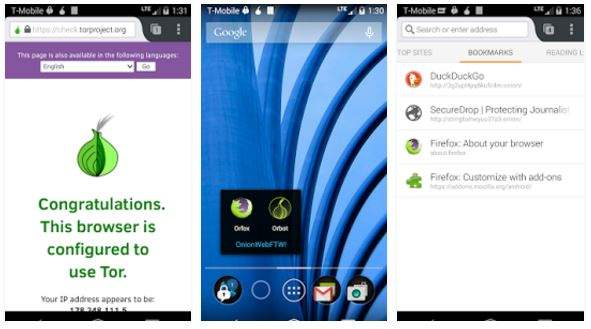 Browser Android Terbaik Orfox