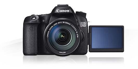 Canon EOS 70D Kamera Untuk Vlog