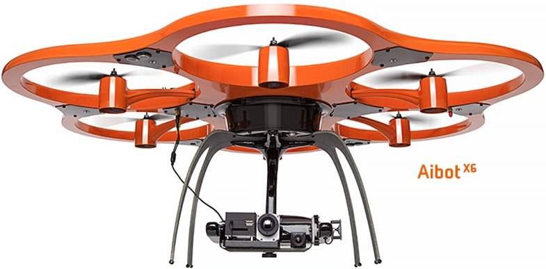 Drone Tercanggih Aibot X6