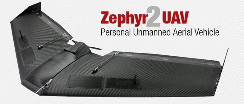 Drone Tercanggih Marcus UAV Zephyr 2