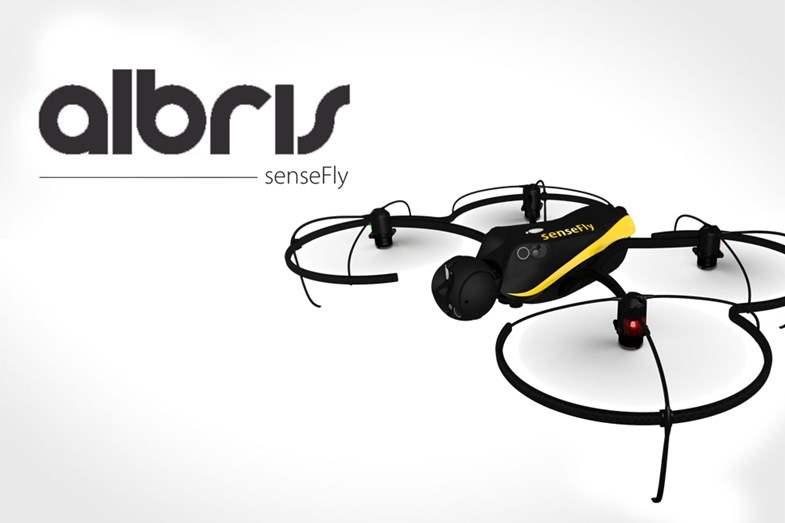 Drone Tercanggih senseFly Albris Drone