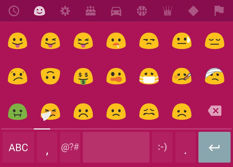 Emoji Baru Android N
