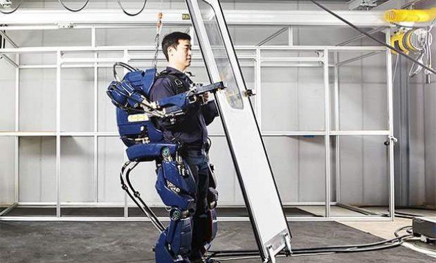 Hyundai Exoskeleton Kostum Ironman Asli