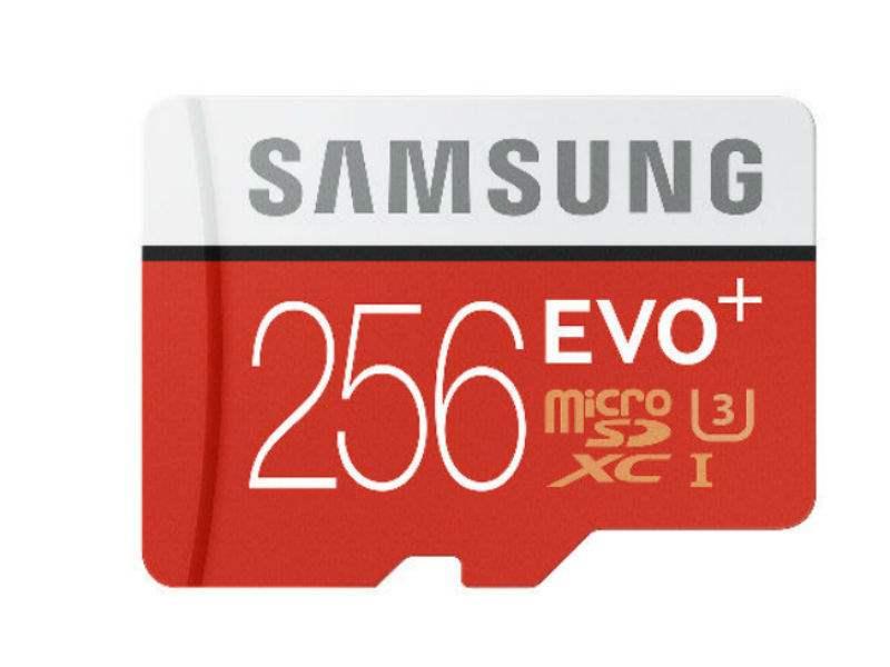 MicroSD Samsung Evo Plus 256GB
