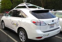 Mobil Google Self Driving Lexus 2