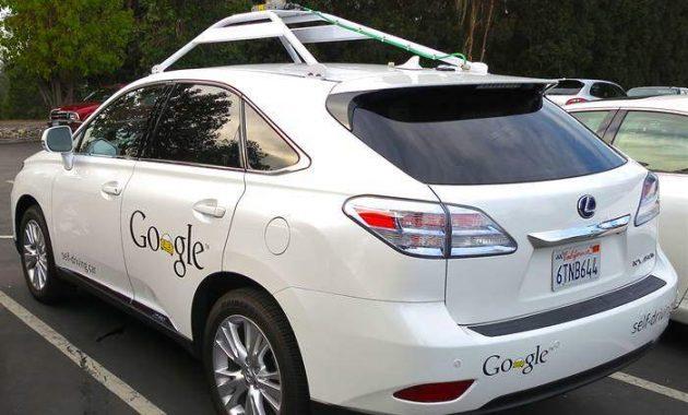 Mobil Google Self Driving Lexus 2