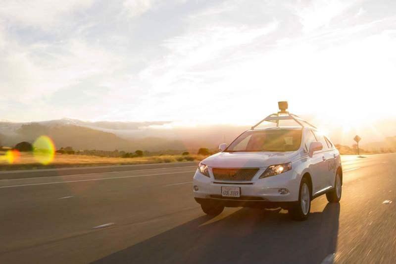 Mobil Google Self Driving Lexus