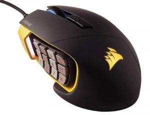 Mouse Gaming Berkualitas Corsair Scimitar RGB