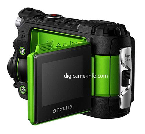 Olympus Stylus TG-Tracker Action Camera 3