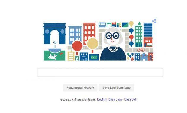 Siapa Jane Jacob Yang Jadi Google Doodle Hari Ini