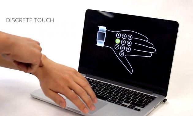 SkinTrack Kulit Manusia Menjadi Touchscreen
