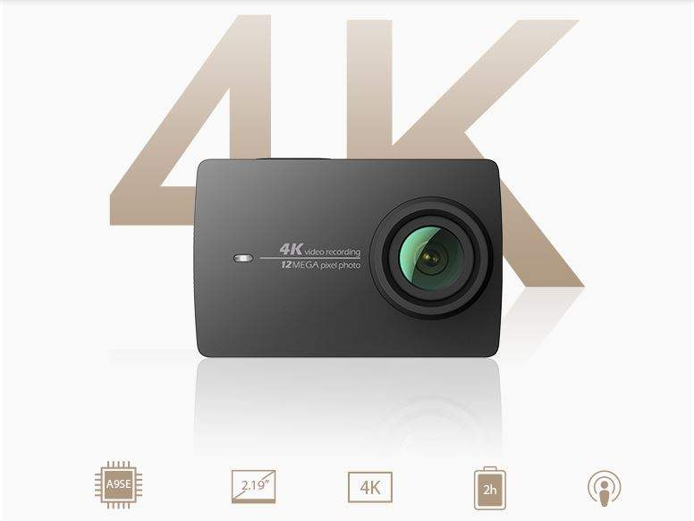Spesifikasi Xiaomi Yi 4k Action Camera JD.com
