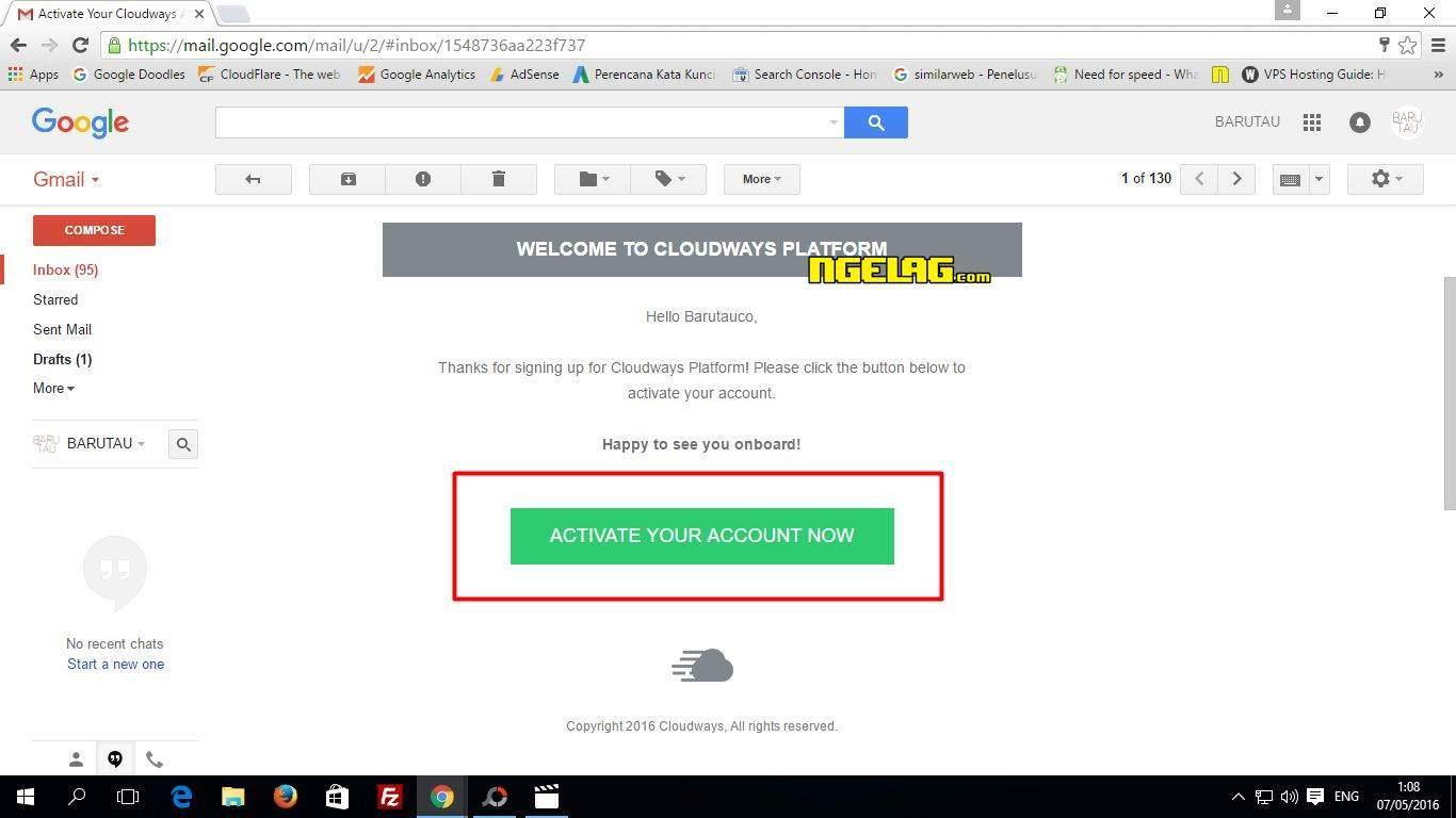 VPS Gratis Digital Ocean Tanpa Kartu Kredit - Aktivasi Akun Lewat Email