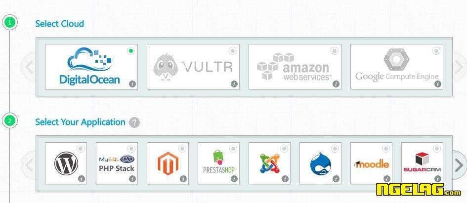 VPS Gratis Digital Ocean Tanpa Kartu Kredit - Pilih Server dan Aplikasi