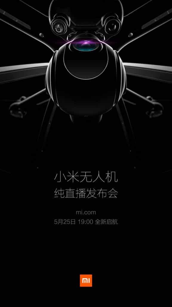 Xiaomi Mi Drone 25 Mei 2016 Teaser