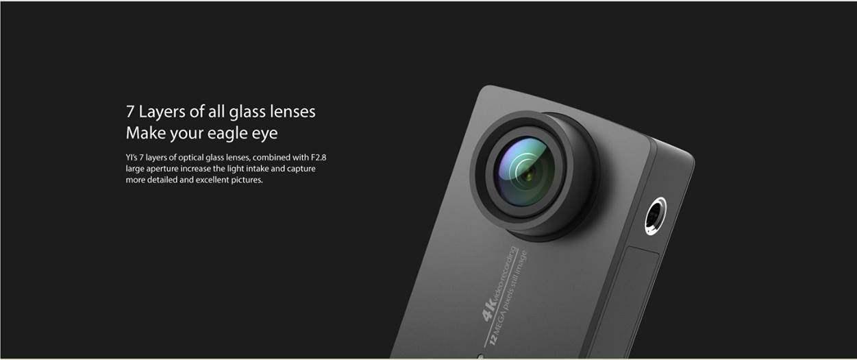 Xiaomi Yi 4K Action Camera Spesifikasi Sensor Lensa