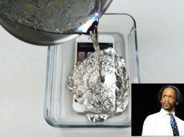 iPhone 6s disiram logam panas meleleh