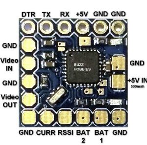 Cara Membuat Drone FPV Micro MinimOSD On Screen Display