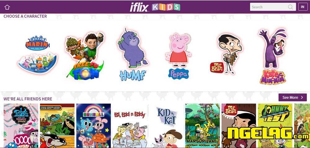Iflix Film Anak-Anak