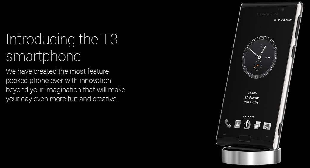 Lumigon T3 Harga Spesifikasi Smartphone Kamera Night Vision 4