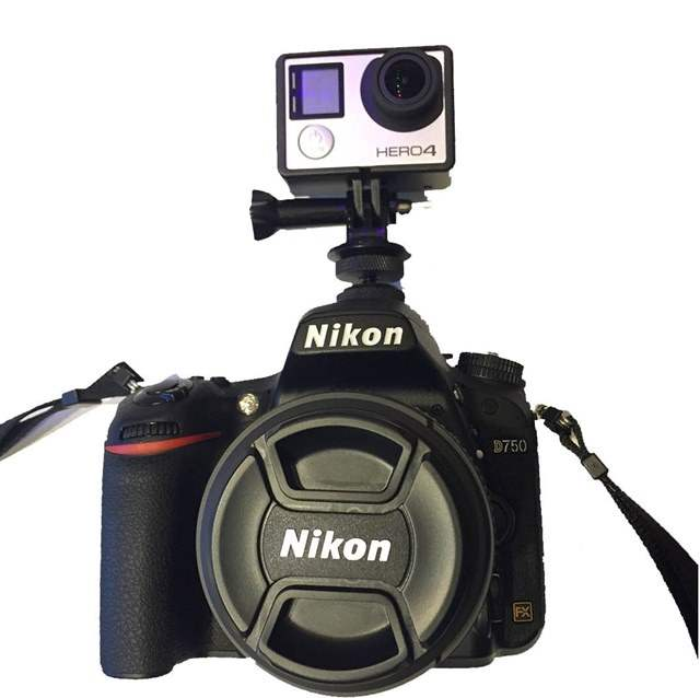 Perbandingan Ukuran Action Camera Dengan DSLR