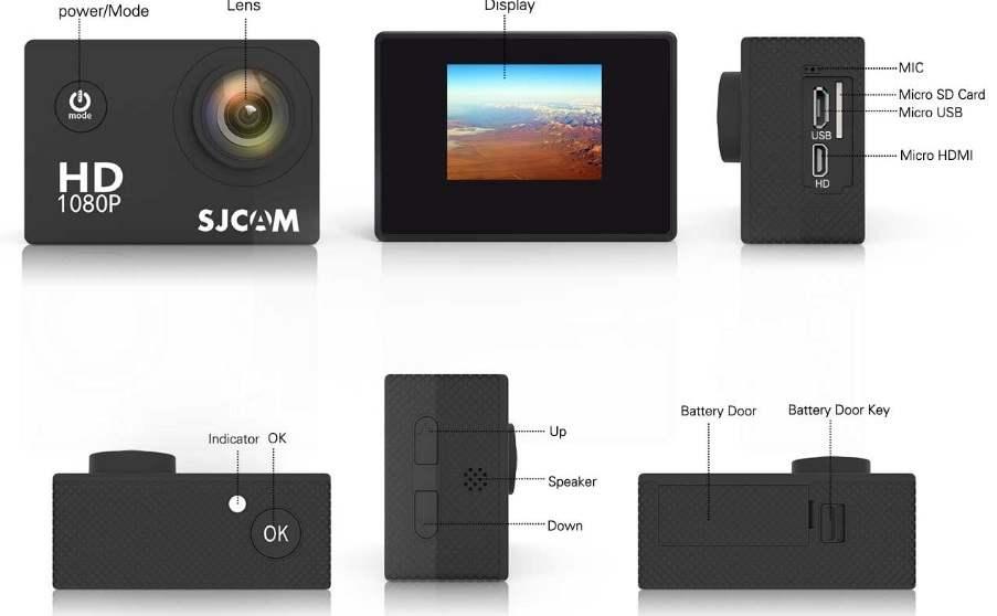 SJCAM SJ4000 Harga , Spesifikasi Dan Review 2
