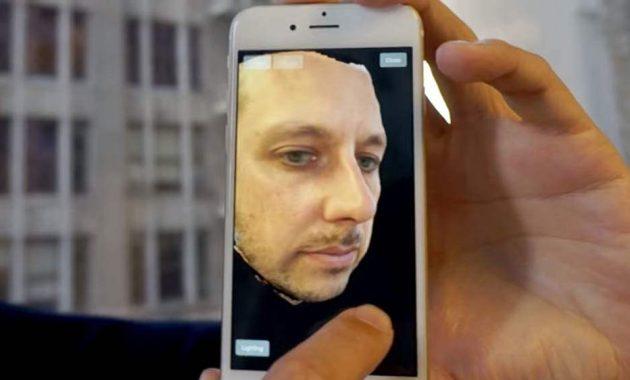 Selfie 3D Snapchat Seene