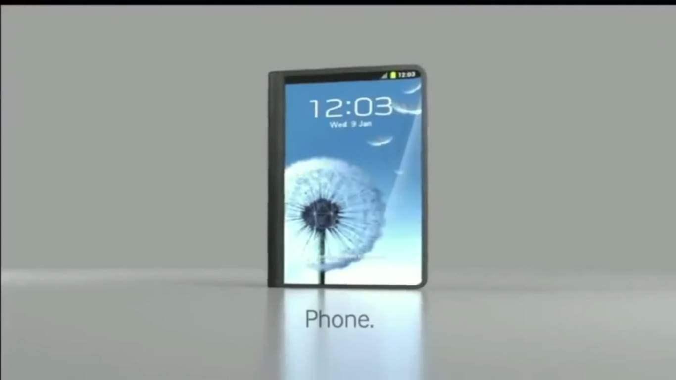Smartphone Samsung Bisa Dilipat 2017