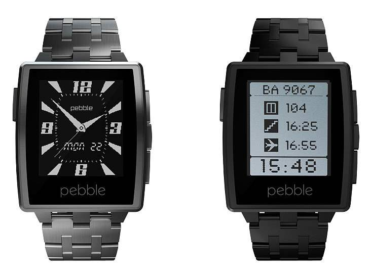 Smartwatch Android Berkualitas Terbaik Pebble Steel