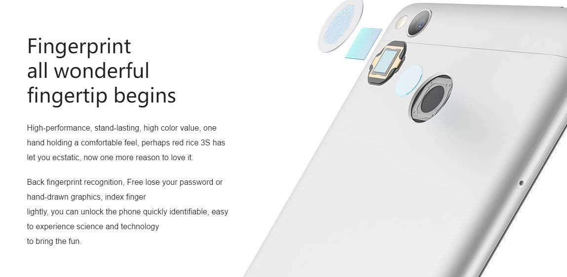 Xiaomi Redmi 3S Harga Spesifikasi Tanggal Rilis Dijual Di Indonesia Fingerprint Sensor