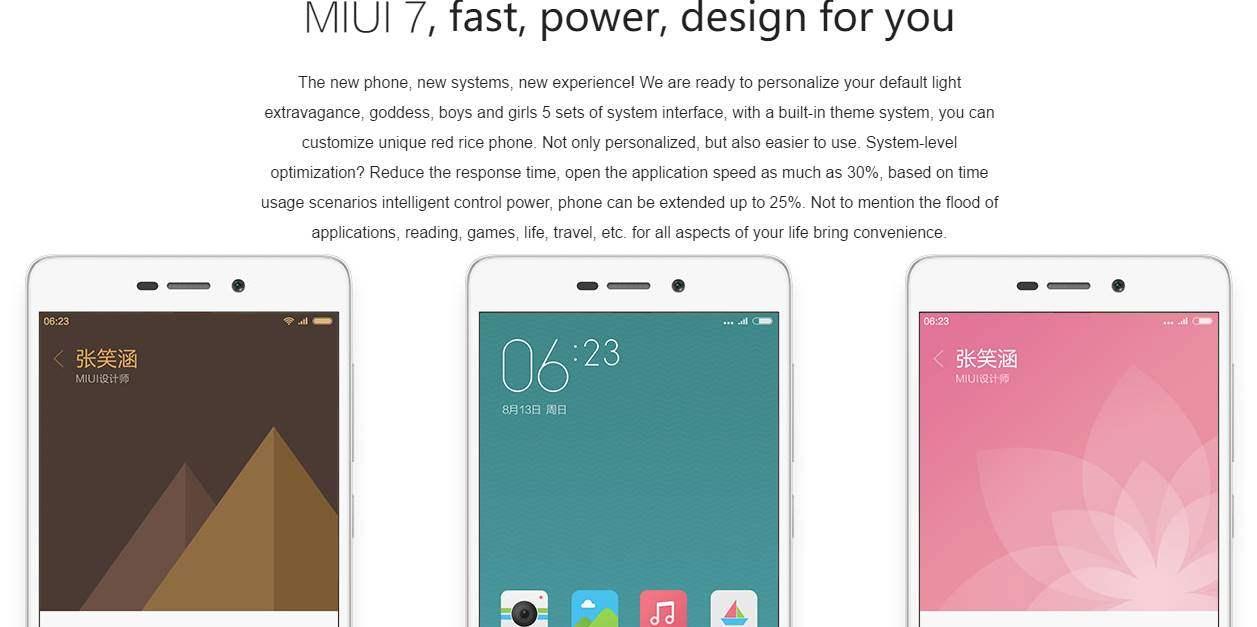 Xiaomi Redmi 3S Harga Spesifikasi Tanggal Rilis Dijual Di Indonesia MIUI 7