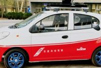 Baidu Self Driving Car Chery EQ