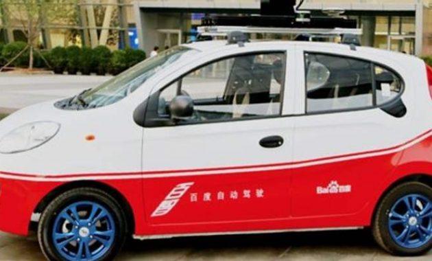 Baidu Self Driving Car Chery EQ