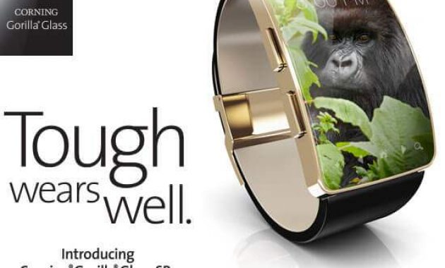 Gorilla Glass SR+ Corning Untuk Wearable Device