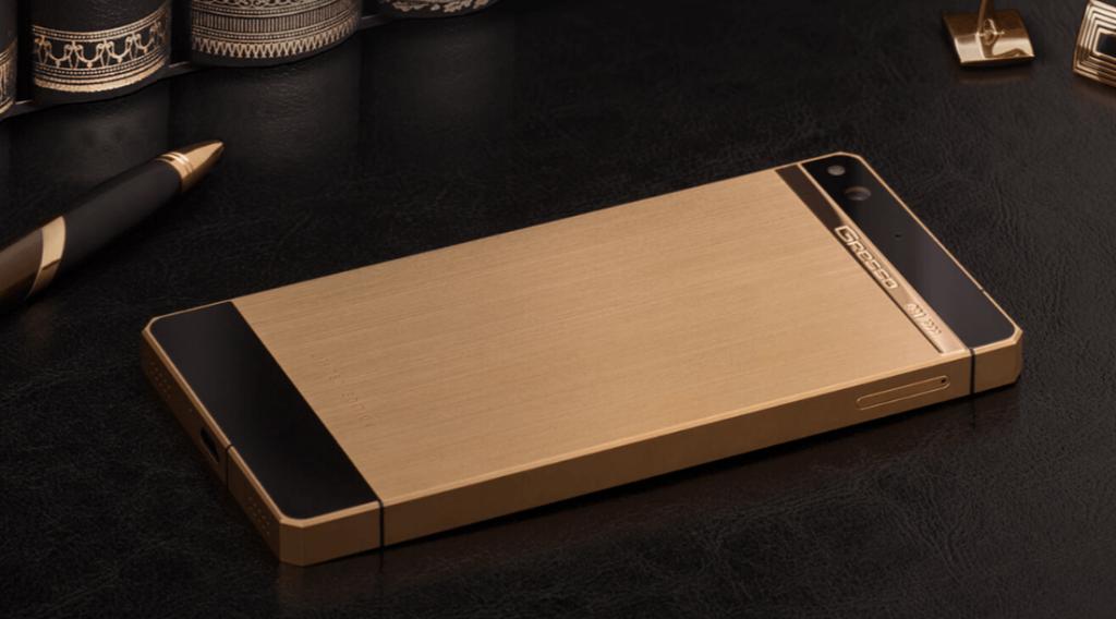 Gresso Regal Gold Smartphone Paling Mahal Didunia 2016