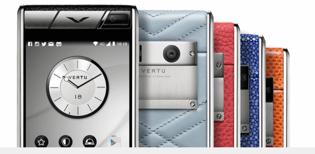 Vertu Aster Collection Smartphone Paling Mahal Didunia 2016