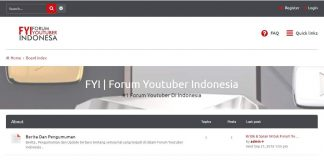 Forum Youtuber Indonesia