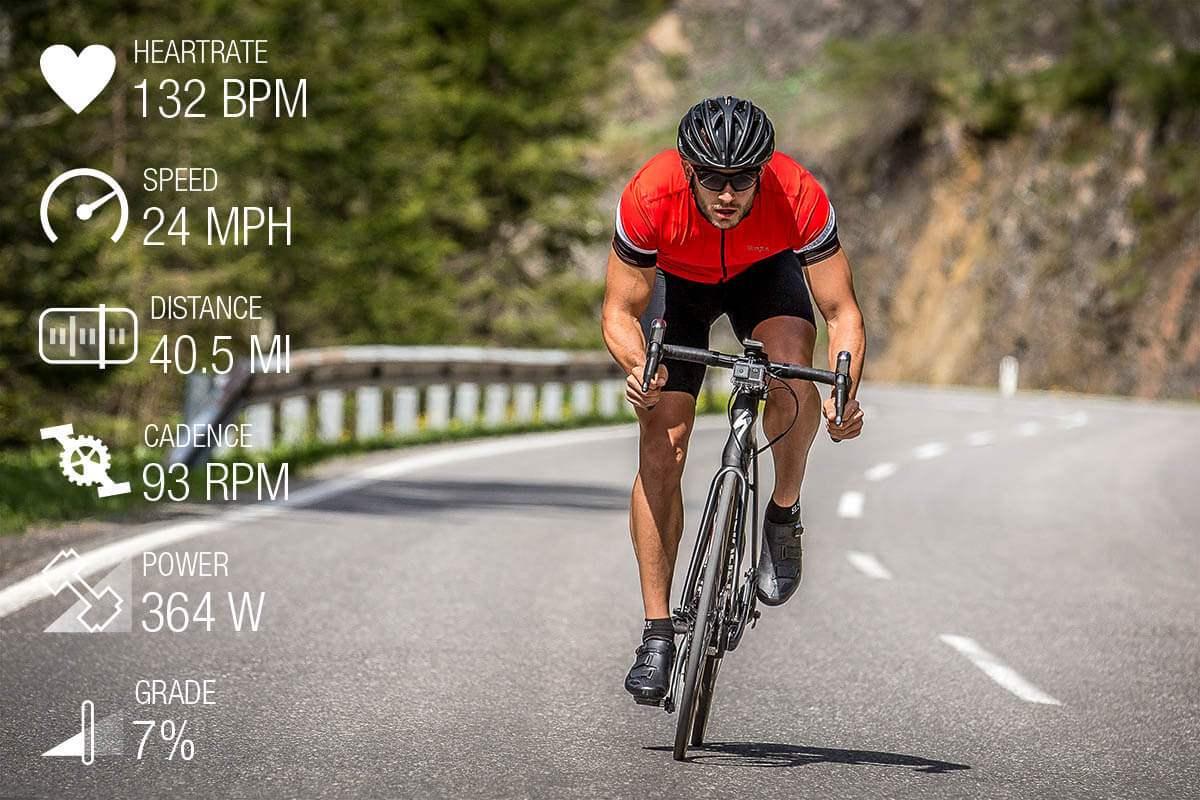 Garmin VIRB ULTRA 30 Fitness Cycling