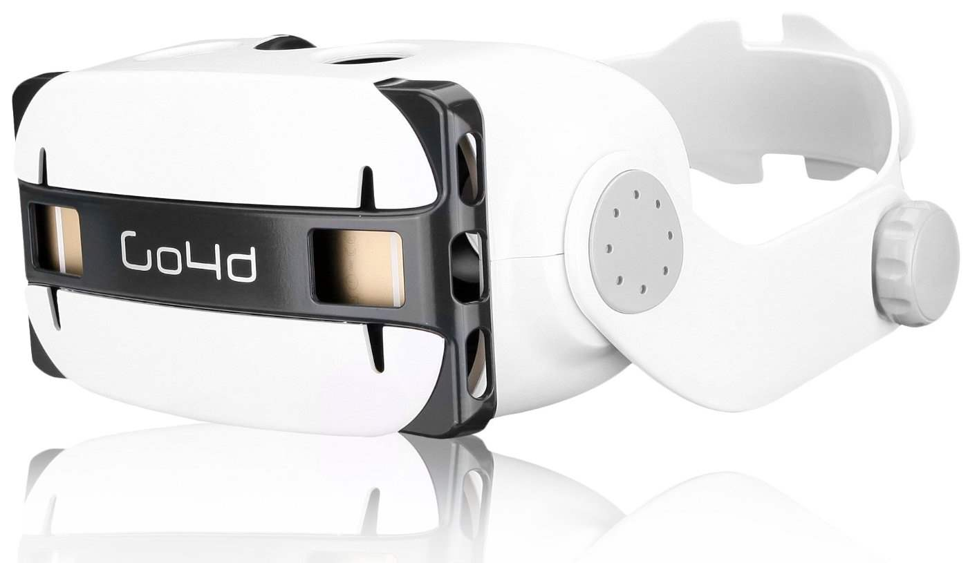 Goggle Tech Go4D VR HMD Mobile Virtual Reality Berkualitas Terbaik