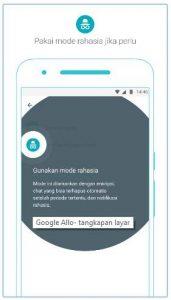 Incognito Mode , Mode Rahasia Google Allo