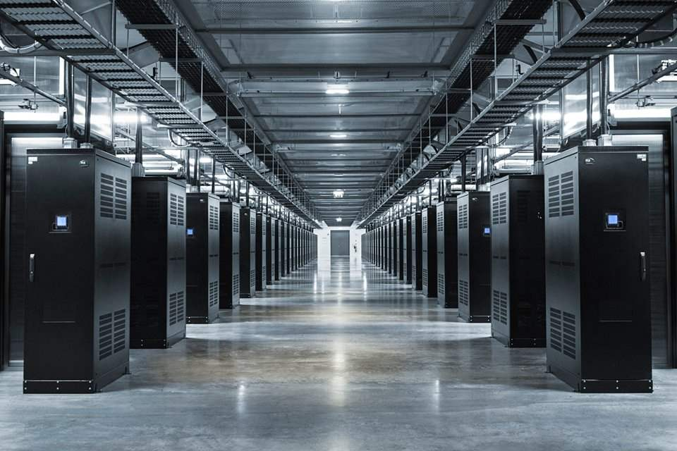 Ruangan Datacenter Facebook