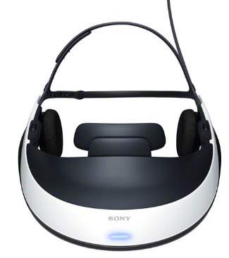 Sony HMZ-T1 Virtual Mobile Theater