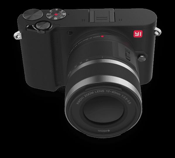 Xiaomi Yi M1 Mirrorless Camera Storm Black